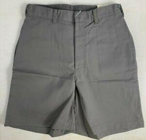 K12 Gear Boys School Uniform Shorts NWT 6445HK Khaki/Navy/Gray Var. Sizes UNI07