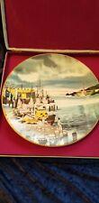 Royal Doulton Dong Kingmang Fisherman's Wharf Collector Plate