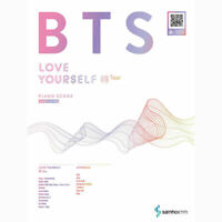 BTS Bangtan Boys LOVE YOURSELF 轉 Tear PIANO SCORE EASY LEVEL 17 songs +Free Gift