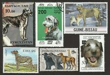 Irish Wolfhound * Int'l Dog Postage Stamp Art Collection *Great Gift Idea*