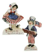 Bethany Lowe Americana Set of 2 Different Children Dummy Boards Rl7289 New