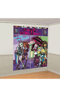 MONSTER HIGH PARTY WALL DECORATION KIT POSTER SCENE SETTER HALLOWEEN PROP