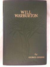 George Gissing - Will Warburton - 1st/1st 1905 Dutton - Art Nouveau Gilt Cloth