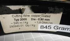 205 lfm RaVet Typ 2000 Ø 0,8 mm Schneiddraht Widerstandsdraht Cutting wire