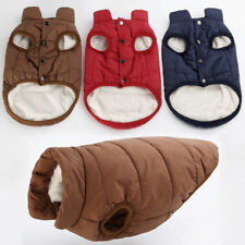 Haustier Hund Winter Soft Warm Mantel Pullover Puppy Fleece Weste Jacke Kleidung
