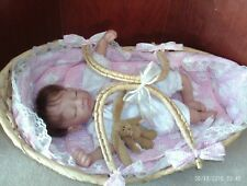 12 in. vinyl/cloth NEW BORN baby girl doll