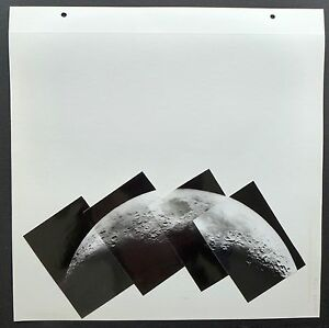 Space Nasa - Moon - Photo Collage Specialists - 1960's - Th