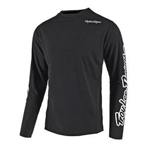 Troy Lee Designs Mens Sprint Bike Jersey Solid Black S 323003232 Open Package