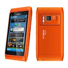 Orange Nokia Lumia N8 N8-00 GPS 3G Wifi 16GB Smartphone Original Unlocked