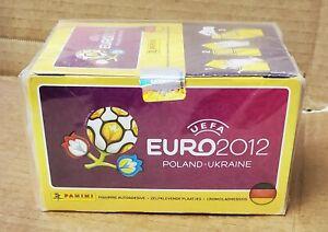 Panini EURO 2012 Poland-Ukraine sealed BOX including 100 packs of stickers