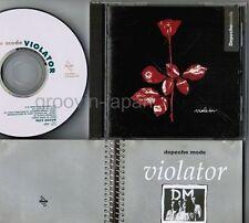 DEPECHE MODE Violator JAPAN CD w/13-p BOOKLET Pony Canyon PCCY-00559 FREE S&H