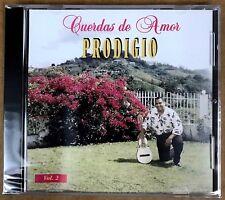 PRODIGIO CLAUDIO - CUERDAS DE AMOR - CUATRO PUERTORRIQUEÑO - CD