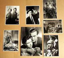 GUSTAV FRÖHLICH * 7 PRESSEFOTOS - diverse Grössen PHOTOS FILM KINO 1950er