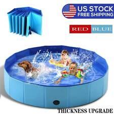 Dog Pool Foldable Pet Bath Pool for Pet Kiddie Bathing Swimming Tub Kiddie Pool