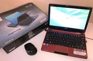 Acer Aspire One 722-0825 Laptop Notebook Computer, 2GB, Webcam, Windows 7