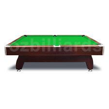 NEW! Walnut 7FT Green Modern Design Pool Snooker Billiard Table Full Accessories