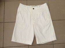 Abercrombie & Fitch   White Cotton shorts   Size 30~