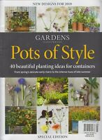 Gardens Illustrated Pots of Style Special Edition New Designs for 2019