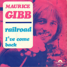 "MAURICE GIBB (BEE GEES) - Railroad (1970 VINYL SINGLE 7"" RARE HOLLAND)"
