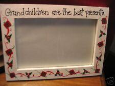 GRANDCHILDREN BEST PRESENTS - Christmas gift grandma grammy photo picture frame