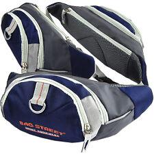 Sporttaschen & Rucksäcke Bauchtasche Gürteltasche Hüfttasche BAG STREET Bauchgurt Angeltasche Blau Navy
