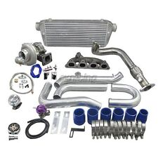 CXRacing Turbo Intercooler Kit For 92-00 Civic EK EG D15 D16 D SOHC