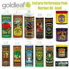 FoxFarm Performance Pack Complete Nutrient Kit - Small w/Big Bloom, Grow Big +