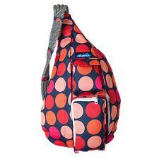 Kavu ROPE SLING Bag Backpack Polyester Shoulder Messenger Bag FIRE BALL NWT!