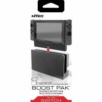 Nyko - Boost Pak 2500 mAh Portable Charger for Nintendo Switch - Black - NEW