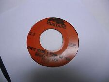 Bobby Fuller Four Love's made A Fool/Don't Ever Let Me 45 RPM vinyl Mustang VG