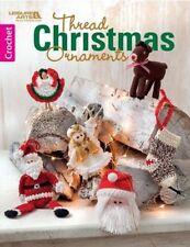 Crochet Pattern Book Thread Christmas Ornaments & Decor