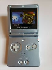 Lot Nintendo GameBoy Advance SP Unit,  Blue, W/ 8 Games & charger AGS-001 work