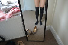 nice lady black socks, river island M
