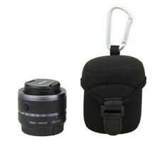 Jjc caso bolsa bolsa de Lente para Canon EF-M 22mm f/2 28mm f/3.5 Sony E 16mm f/2.8