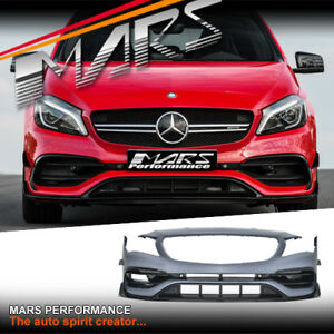 AMG A45 MY16 Style Front Bumper Bar & Carnards for Mercedes-Benz A Class W176