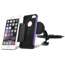 360 Magnetic Car CD Dash Slot Mount Holder Cradle for Apple iPhone / LG / GALAXY