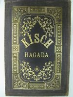 Vintage Haggadah Antique Judaica Kisch Hagada Prague Bohemia 1889 German Transla