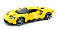 2017 Ford GT Yellow 1:18 Model Car Maisto Special Edition, New