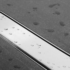 ESS Duschrinne Edelstahl flach Easy Drain 80cm Bodenablauf Duschablauf komplett
