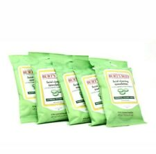 x5 Burt's Bees 10 Facial Cleansing Towelettes Cucumber & Sage Extract (50 TOTAL)