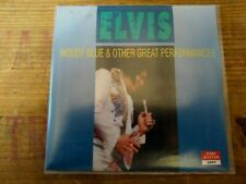 RARE ELVIS PRESLEY CD - MOODY BLUE & OTHER GREAT PERFORMANCES - FORT BAXTER