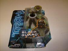 DISNEY TRON LEGACY BLACK GUARD ACTION FIGURE *NEW MOC* 2010 SPIN MASTER MOC