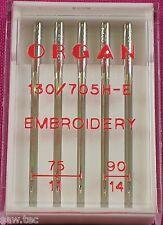 Organ heim-nähmaschine Nadeln Stickereien Mix Größe universal