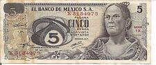 MEXICO, 5 PESOS, 1971
