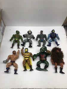 He-man heman motu lot action figures vintage Buzz Off Grizzlor Hordak Leech