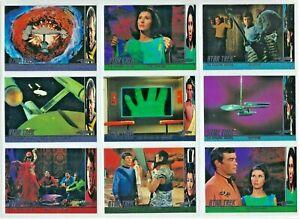 1998 Star Trek the Original Series season 2  Behind the Scenes cards ,U-Pick.