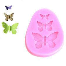 Sugarcraft Butterfly Silicone Fondant Mold Cake Decor Chocolate Gumpaste Mold TY