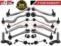 FOR BMW E60 E61 FRONT REAR SUSPENSION WISHBONE TRACK CONTROL ARMS LINKS KIT