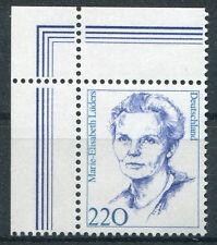 Ceinture 1940 tamponné eckrand pièce coin 1 plane rfa Femmes MNH
