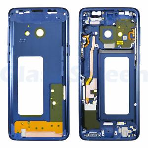 Samsung Galaxy S9 G9600/DS G960U Front Housing Bezel Frame Black Blue Purple